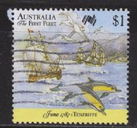 Australia SG1066 1987 Bicentenary (7th issue) $1 good/fine used